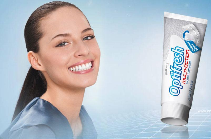 Зубная паста Optifresh от Орифлейм!